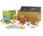 Pudełko z zabawkami Carousel 9 w 1