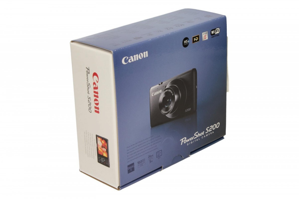how to connect canon powershot s200 to wifi