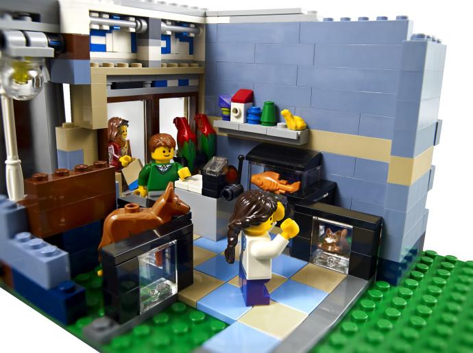 Klocki Sklep Zoologiczny Modular Houses Lego Creator 10218 Creator Lego Sklep
