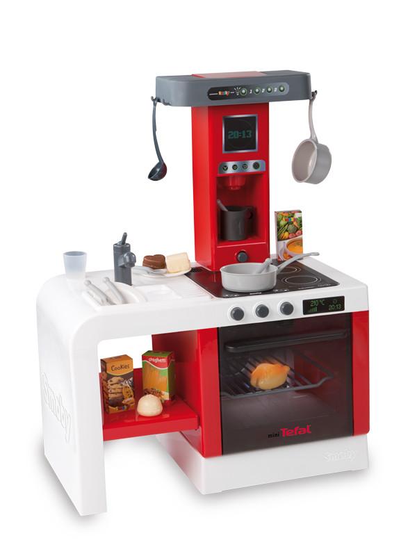 Kuchnia dla dziewczynki Smoby 024114 Tefal Cheftronic 2   -> Kuchnia Tefal Dla Dzieci