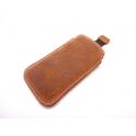 Etui wsuwka skórzana pocket split SAMSUNG S8+/ S9+/ NOTE 8  brąz