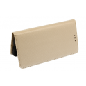 Etui Flip Magnet LG K10 2017 złoty