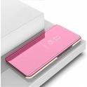Etui z klapką Clear View Cover SAMSUNG GALAXY A70 różowe