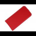 Kabura pionowa Rubber HUAWEI Y7 PRIME 2018/Y7 2018 czerwona