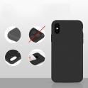 Etui Silicone Case elastyczne silikonowe SAMSUNG GALAXY S8+ S8 PLUS granatowe