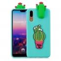 Etui 3D HUAWEI P20 kaktus