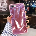 Etui 3D Lustro Mirror Obudowa Diamond Stone SAMSUNG GALAXY S10e różowe