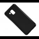 Etui Back żel MATT 0,5 SAMSUNG J6 2018 czarne