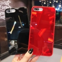Etui 3D Lustro Mirror Obudowa Diamond Stone SAMSUNG GALAXY S10 czerwone