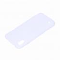 Etui Silikonowe matowe Soft SAMSUNG GALAXY A10 białe