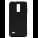 Etui Back żel MATT 0,5 LG K10 2018 czarne