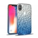 Etui Diamond Ombre SAMSUNG GALAXY A7 2018 niebieskie