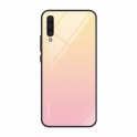 Etui Szklane Glass case Gradient IPHONE 7 / 8 jasny róż
