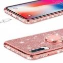 nemo Etui Diamond Ring SAMSUNG GALAXY A50 różowe