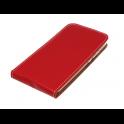 Kabura pionowa Rubber SAMSUNG A6+ czerwona
