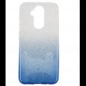 Etui Glitter HUAWEI MATE 20 LITE niebiesko-srebrne