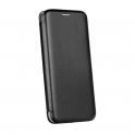 Etui IPHONE XR portfel z klapką skóra ekologiczna Flip Elegance czarne