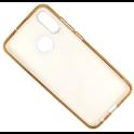Etui Brokat Glitter IPHONE X złoty kwiat