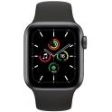 Smartwatch Apple Watch SE GPS 40mm Aluminium szary z czarnym paskiem Sport
