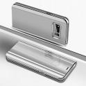 Etui Clear View Cover SAMSUNG S10 srebrne