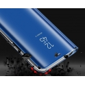Etui z klapką Clear View Cover XIAOMI  REDMI 7 niebieskie
