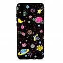 Etui Slim case Art SAMSUNG GALAXY J6+ J6 PLUS planety różowe