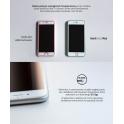 3MK HARD GLASS MAX SAMSUNG S6 EDGE BIAŁY