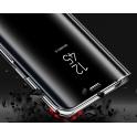 Etui Clear View Cover SAMSUNG J6+ J6 Plus czarne