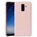 Etui Silicone Case elastyczne silikonowe SAMSUNG GALAXY A6 2018 różowe