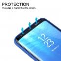 Etui Silicone Case elastyczne silikonowe SAMSUNG GALAXY S10 granatowe
