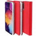 Etui portfel Flip Magnet LG K50/Q60 czerwone
