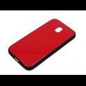 Etui Glass SAMSUNG J3 2017 czerwone