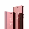 Etui Clear View Cover SAMSUNG J6 2018 różowe