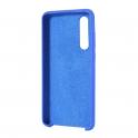 Etui Silicone Case elastyczne silikonowe HUAWEI P30 granatowe