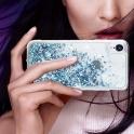 Etui Liquid IPHONE X niebieskie