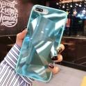 Etui 3D Lustro Mirror Obudowa Diamond Stone SAMSUNG GALAXY S10 turkusowe