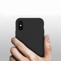 Etui Silicone Case elastyczne silikonowe IPHONE X granatowe