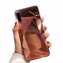 Etui 3D Lustro Mirror Obudowa Diamond Stone SAMSUNG GALAXY S10e różowe złoto