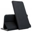 Etui portfel Flip magnet  LENOVO  MOTO G6+  czarne