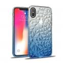 Etui diamond Ombre LG K10 2018 niebieski
