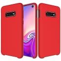 Etui Silicone Case elastyczne silikonowe SAMSUNG GALAXY S10+ S10 PLUS czerwone