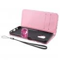 nemo Etui wallet leather SAMSUNG GALAXY S9 G960 Różowe cekiny