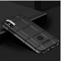 Etui pancerne Rugged square IPHONE XR czarne
