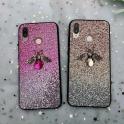 Etui Bee Glitter SAMSUNG GALAXY A50 różowe