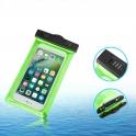 Uniwersalne etui wodoodporne wodoszczelne 6,2'' pokrowiec z opaską na ramię zielony