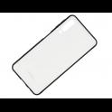 Etui glass SAMSUNG A7 2018 białe