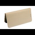 Etui portfel Flip Magnet SAMSUNG S10  złote
