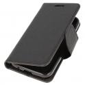 Etui portfel z klapką Fancy SAMSUNG GALAXY NOTE 10+ PLUS czarne