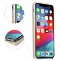 Etui Silicone Case elastyczne silikonowe HUAWEI Y6 2018 szare