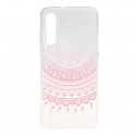 Etui Slim case Art Wzory  XIAOMI MI 9 różowy mandala